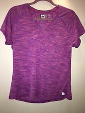 """NEW* """"RBX Performance"""" 100% Polyester Purple Athletic V-Neck T-Shirt, Size XL"""