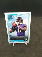 Lamar Jackson 2018 Donruss Optic Rated Rookie RC #167 Ravens READ DESCRIPTION