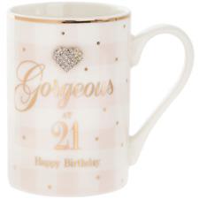 Leonardo Mad Dots 21st Birthday Mug #LP33858