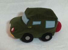 "Disney Cars Microbead Green Plush Stuffed Soft 12"""