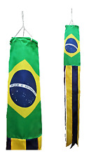 Brazil Flag Super 5' Windsock