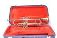 King 600 Bb Student Trumpet with case, mouthpiece SN 327548
