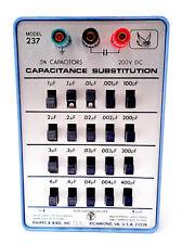 PHIPPS & BIRD 237 CAPACITANCE SUBSTITUTION 100 pF TO 11.1µF CAPACITORS !
