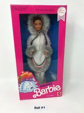 Eskimo 2nd Edition 1990 Barbie Doll Dolls of the World Collection #18-1659