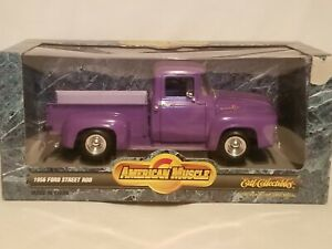 ERTL Collectibles Diecast 1:18 - 1956 Ford Truck - American Muscle - Purple 1997