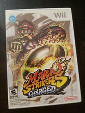 Mario Strikers Charged (Nintendo Wii, 2007). Complete Good Condition
