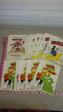 Vintage treat bags, Hallmark, Muppets, Mickey mouse Disney, Valentine , unused,