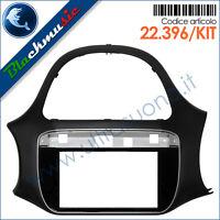 Kit mascherina montaggio autoradio 2DIN Fiat Punto EVO (dal 2009)