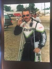 DAVE DARLAND USAC SPRINT CAR CRUTCH 2001 8X10 PHOTO