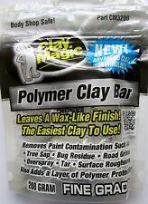 CLAY MAGIC® WHITE by AUTO MAGIC, POLYMER DETAILING CLAY BAR, 200 gram bar