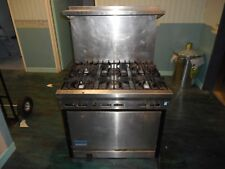 BARGAIN!! EXCEL NATURAL GAS COMMERCIAL CATERING OVEN AND 6 HOB RANGE BARGAIN!!