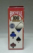 Bicycle Poker Chips 100 Count per box Casino Colors