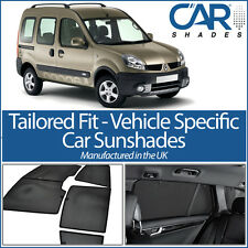 Renault Kangoo TWIN REAR DOOR 02-08 UV CAR SHADES WINDOW SUN BLIND PRIVACY GLASS
