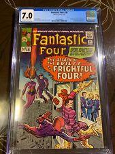Fantastic Four #36 CGC 7.0 1st Frightful Four and Medusa
