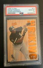 1996 Fleer Ultra Home Run Kings Frank Thomas #10 wood card PSA 10 GEM MINT
