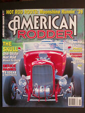 AMERICAN RODDER  The Skull, Old-Style Hot Rod  May 2005
