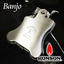 RONSON CLASSIC DESIGN Cigarette OIL LIGHTER BANJO R01-0022