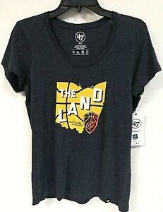'47 Brand Women's Cleveland Cavaliers Short Sleeve Shirt, Size M - 9P_A7