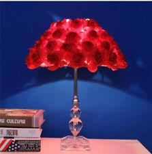 K9 Crystal Base Desk Light Roses LED Table LampReading lamp Bedroom Lighting