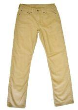 Levi's Mens 514 Corduroy Pants 30 x 32 Brown Tan Straight Leg Five Pocket
