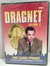 DVD Dragnet Volume 2 Three Classic Episodes [Slim Case] Jack Webb Joe Friday