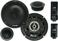 "Alpine R-S65C.2 6.5"" Component 2-Way Car Audio Speakers 100W RMS 300W Peak NEW"