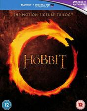 The Hobbit Trilogy Blu-ray 2015 Region DVD 5051892186858