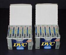 New listing Panasonic Dvc Lot Of 10 Mini Dv Cassette Tapes New & Sealed Sp 60 / Lp 90