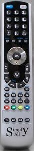 New Samsung LE40C530F1W  Simply-All Replacement Remote Control