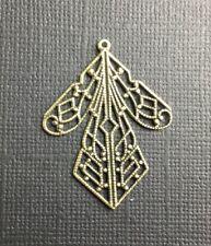 Victorian Angel Skirt / Body Jewelry Finding Brass Oxidized 19013