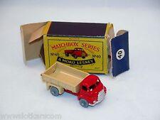 Matchbox Moko Lesney  N°40 Bedford 7 Ton Tipper N/Mint avec Boite ! rare !(#MBA)