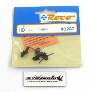Roco H0 40282 2 Stk Kurzkupplung mit Flügelfedern f. Lok Tender OVP X00001-26807
