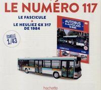 HEULIEZ GX317 AUTOBUS RATP 1994 HACHETTE 1/43 Fascicule BUS PARIS FRANCE GX 317
