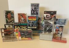 HUGE LOT OF NASCAR & OTHER RACING 21 CASE/BOX COLLECTION - DALE EARNHARDT & MORE