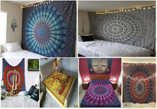 Indian Mandala Tapestry Boho Wall Hanging Bohemian Hippie Wall Decor Gypsy Throw