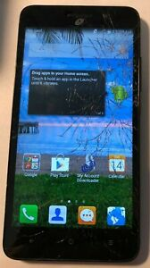 [BROKEN] Huawei Raven H892L 8GB Black (Tracfone) Fast Ship Parts Repair Cracked
