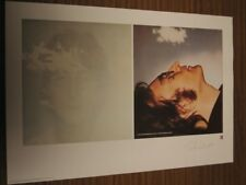 """JOHN LENNON - PLATE/SIGNED - LIMITED EDITION MUSEUM STYLE LITHOGRAPH """"IMAGINE"""""""