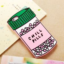 Chill Pills Bottle Cute Pink Soft Gel Case Phone Back Cover for iPhone 6/6s