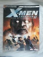 X-MEN LEGENDS II RISE OF APOCALYPSE Bradygames Official Strategy Guide 2005