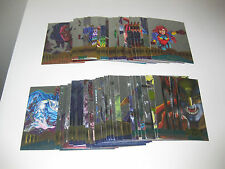 "1995 MARVEL METAL - "" SILVER FLASHER "" -  PARALLEL SET CARDS - PICK ONE"