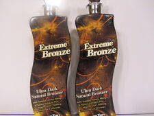 LOT of 2 EXTREME BRONZE Tanning Lotion by Supre