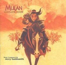 "Jerry Goldsmith:  ""Mulan""  + Bonus  (Soundtrack-Score CD)"
