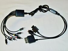 Universal Component AV Cable for Nintendo Wii Playstation 3 X-Box 360 PS3 PS2 2