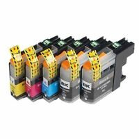 5PK INK CARTRIDGE for BROTHER LC-203XL LC203 LC-201 MFC-J460DW MFC-J480DW BK CMY