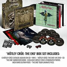 MOTLEY CRUE - THE END - DELUXE BOX SET - 180g.Vinyl + CD's + DVD's + BOOK + MORE