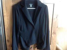 2b Rych Soft Wool Blazer Jacket Size 8 Peplum Lagenlook Goth Edwardian
