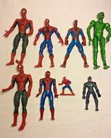 Marvel Spiderman action Figures Job Lot