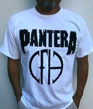 PANTERA ROCK BAND WHITE T-SHIRT