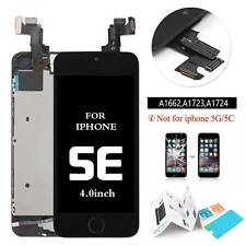 for iPhone SE LCD Display Touch Screen Digitizer Home Button Assembly Black