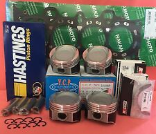 YCP 75mm Vitara Pistons Low Comp.+ Rings+ Bearings+ Gasket Honda Civic D16 Turbo
